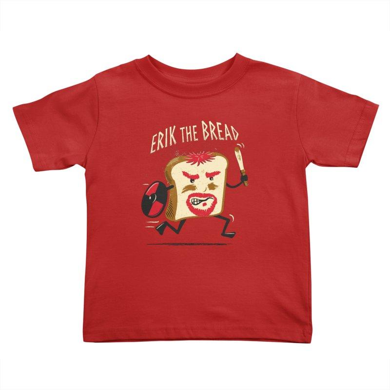 Erik the Bread Kids Toddler T-Shirt by ikado's Artist Shop