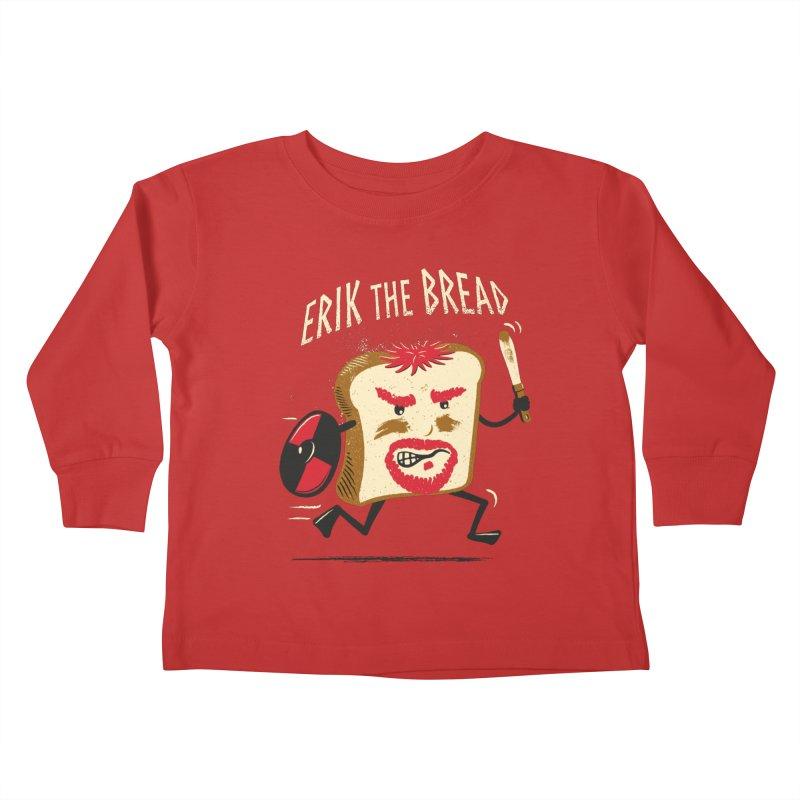 Erik the Bread Kids Toddler Longsleeve T-Shirt by ikado's Artist Shop