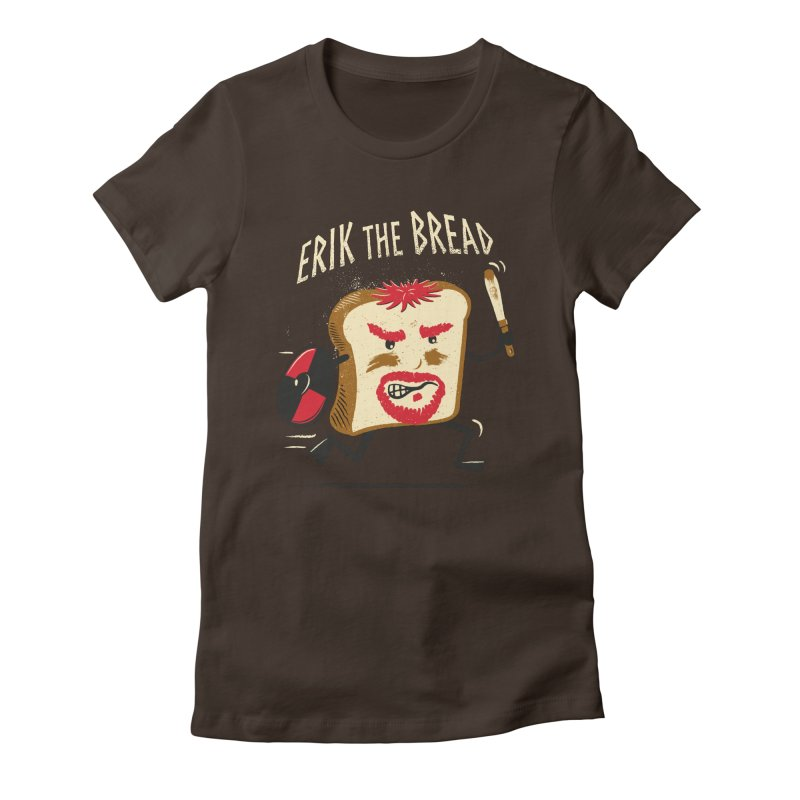 Erik the Bread Women's Fitted T-Shirt by ikado's Artist Shop