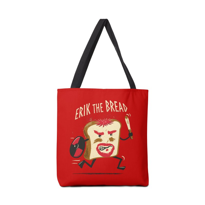 Erik the Bread Accessories Tote Bag Bag by ikado's Artist Shop