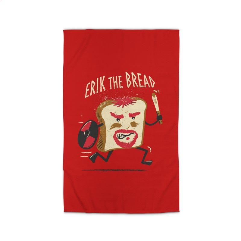Erik the Bread Home Rug by ikado's Artist Shop