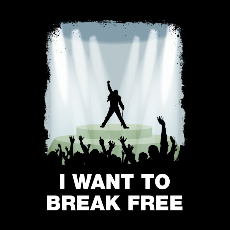 I want to break free Home Framed Fine Art Print by ikado's Artist Shop