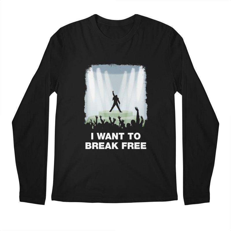 I want to break free Men's Longsleeve T-Shirt by ikado's Artist Shop