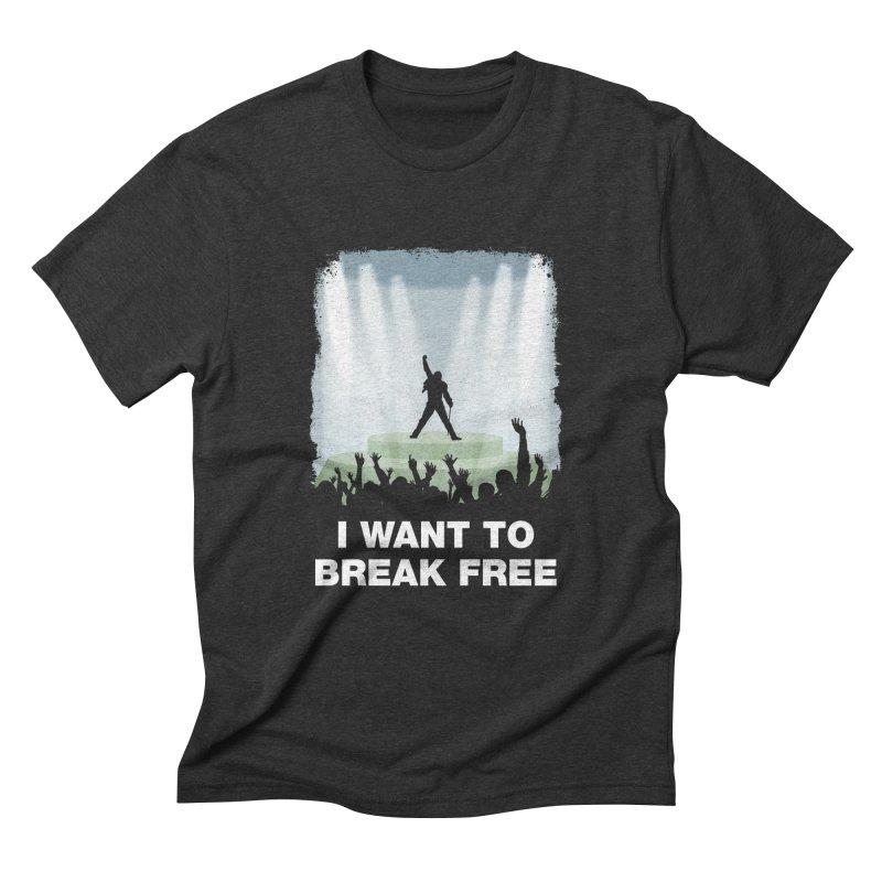 I want to break free Men's Triblend T-Shirt by ikado's Artist Shop