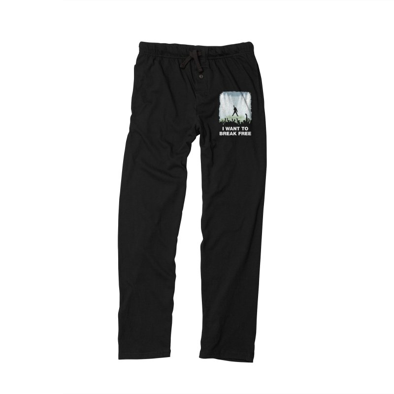 I want to break free Men's Lounge Pants by ikado's Artist Shop
