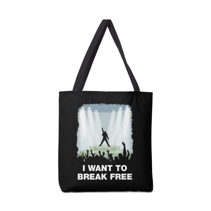 I want to break free Accessories Tote Bag Bag by ikado's Artist Shop