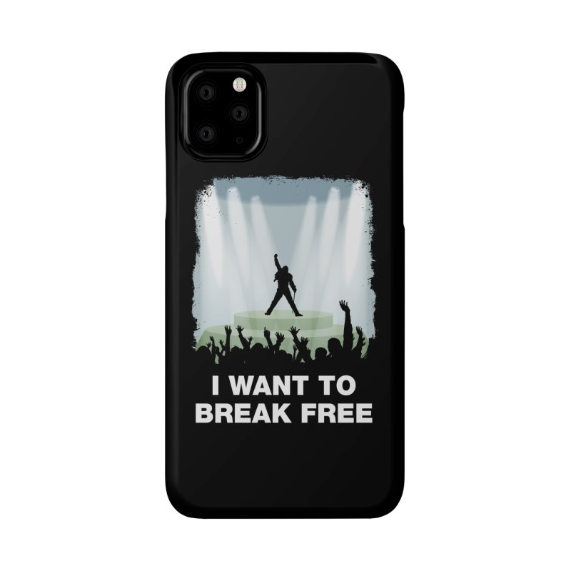I want to break free Accessories Phone Case by ikado's Artist Shop