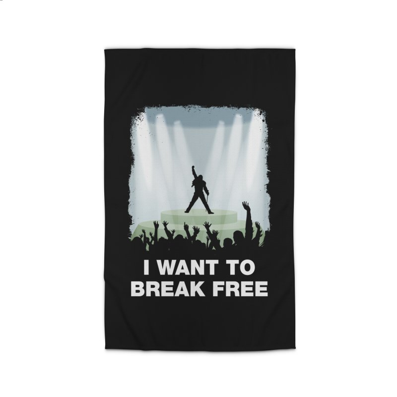 I want to break free Home Rug by ikado's Artist Shop