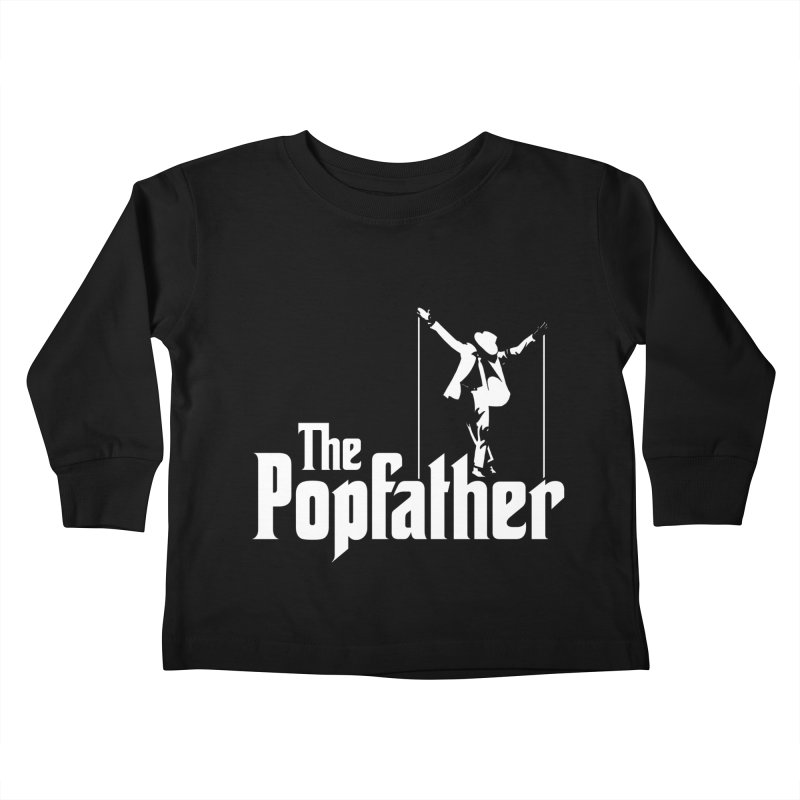 The Popfather Kids Toddler Longsleeve T-Shirt by ikado's Artist Shop