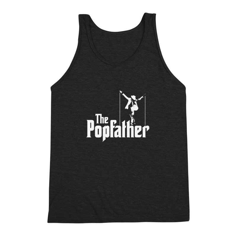 The Popfather Men's Triblend Tank by ikado's Artist Shop