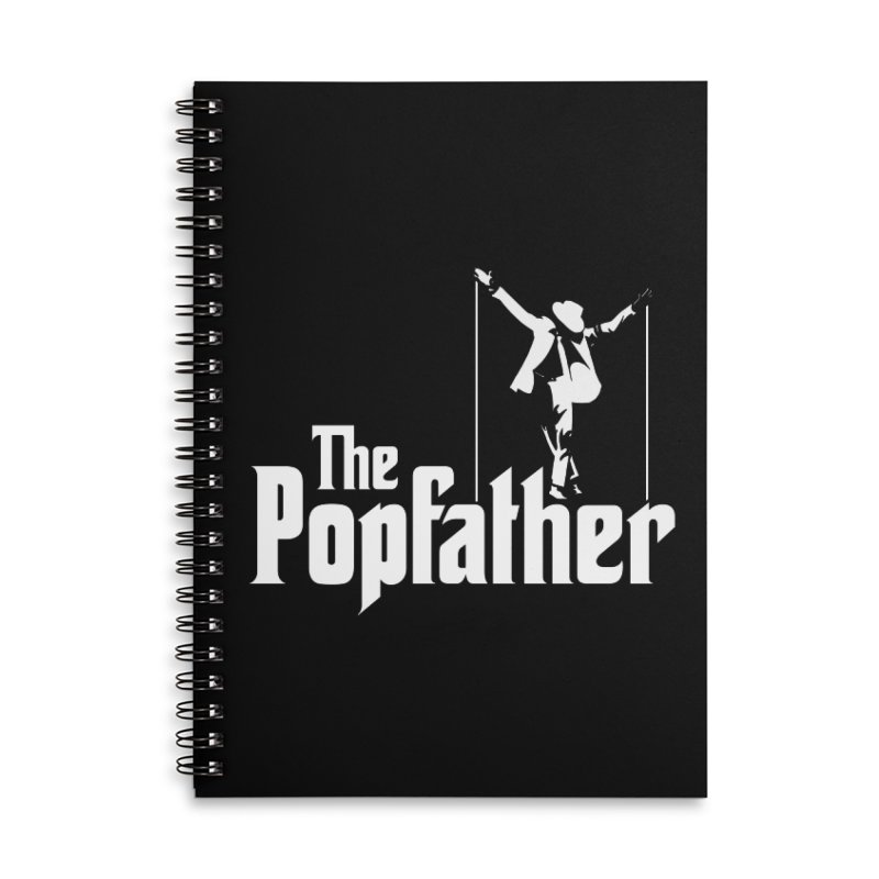 The Popfather Accessories Lined Spiral Notebook by ikado's Artist Shop