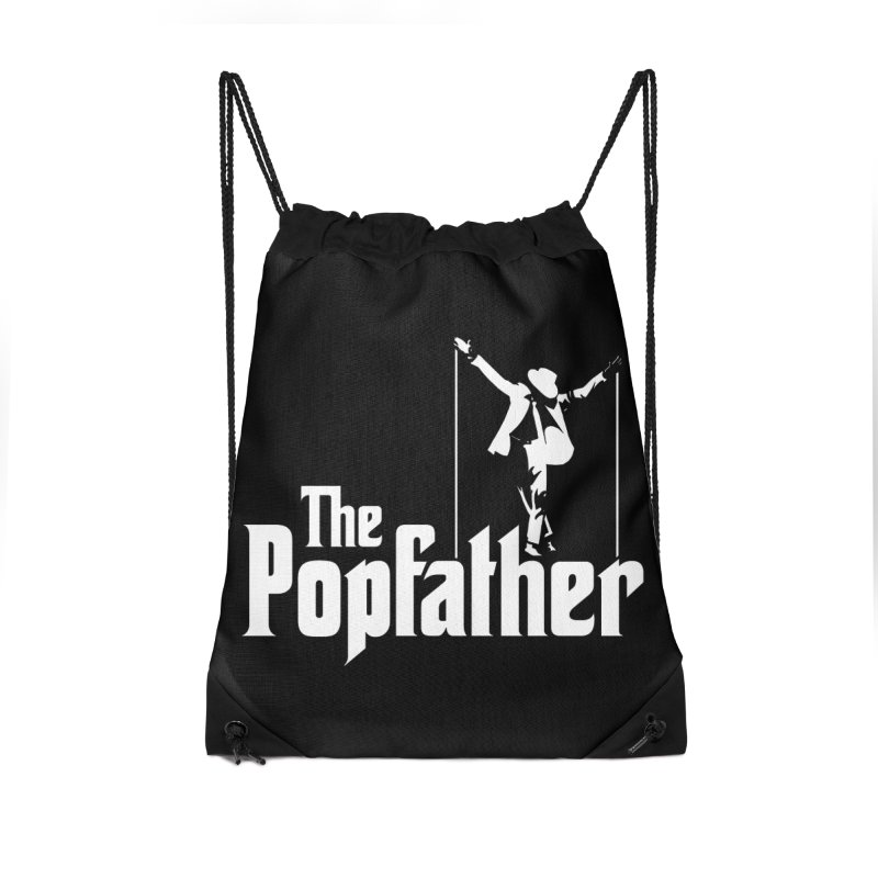 The Popfather Accessories Drawstring Bag Bag by ikado's Artist Shop