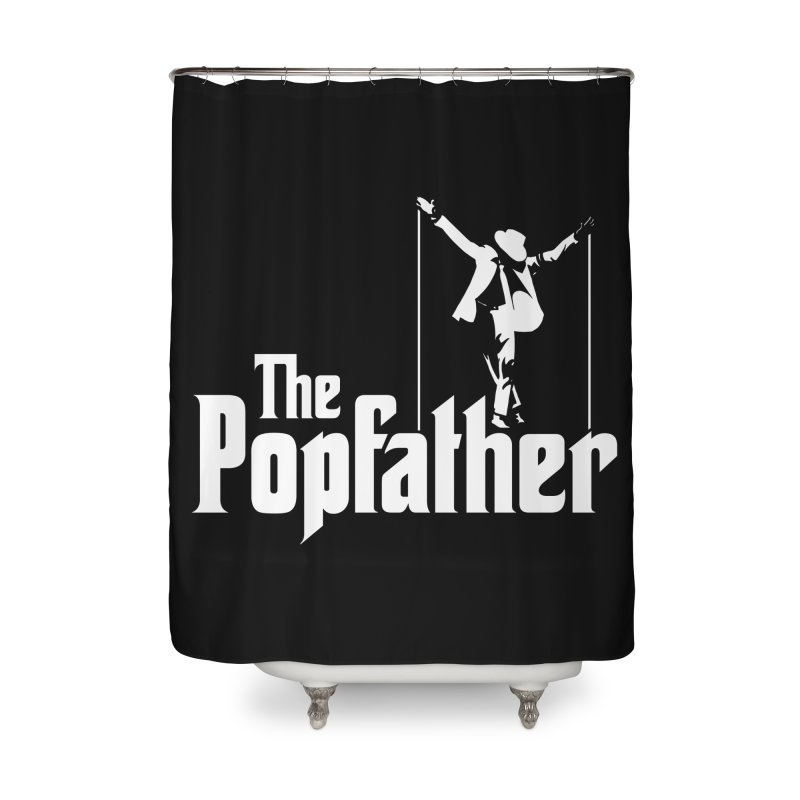 The Popfather Home Shower Curtain by ikado's Artist Shop