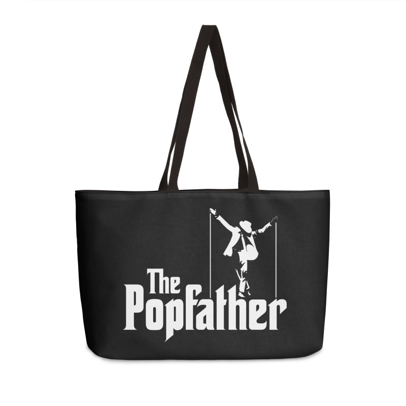 The Popfather Accessories Weekender Bag Bag by ikado's Artist Shop