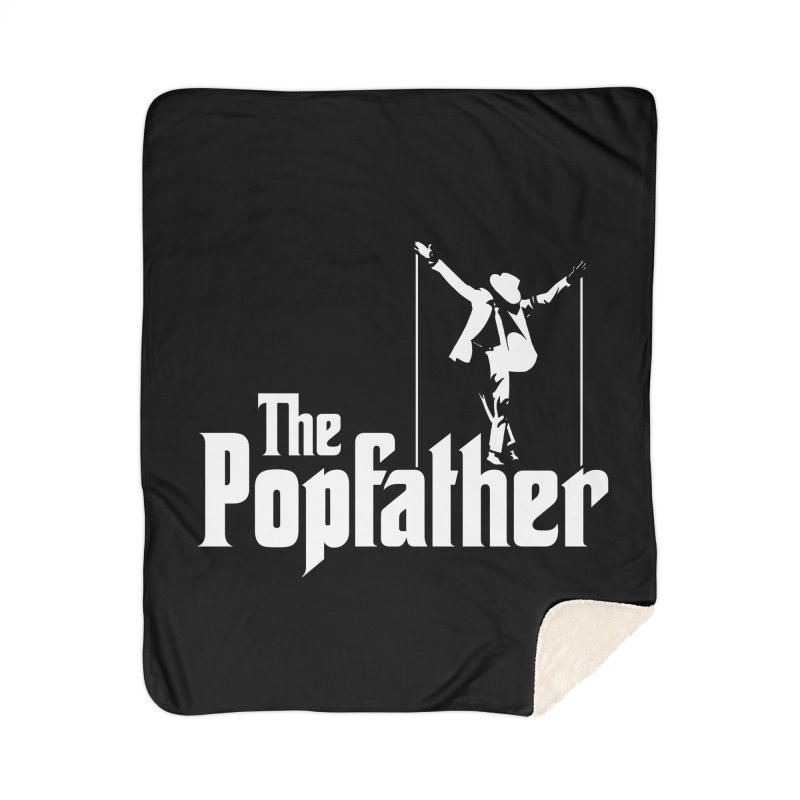 The Popfather Home Sherpa Blanket Blanket by ikado's Artist Shop