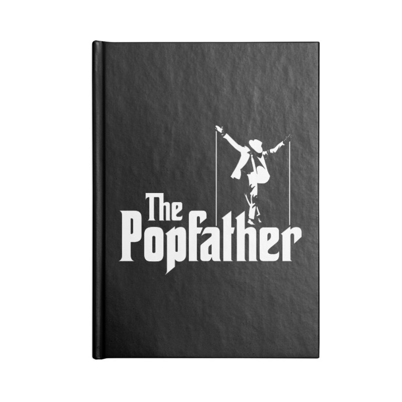 The Popfather Accessories Lined Journal Notebook by ikado's Artist Shop