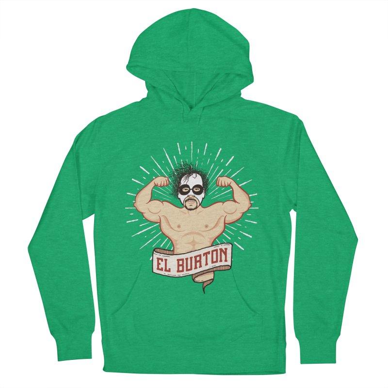 El Burton Men's Pullover Hoody by ikado's Artist Shop