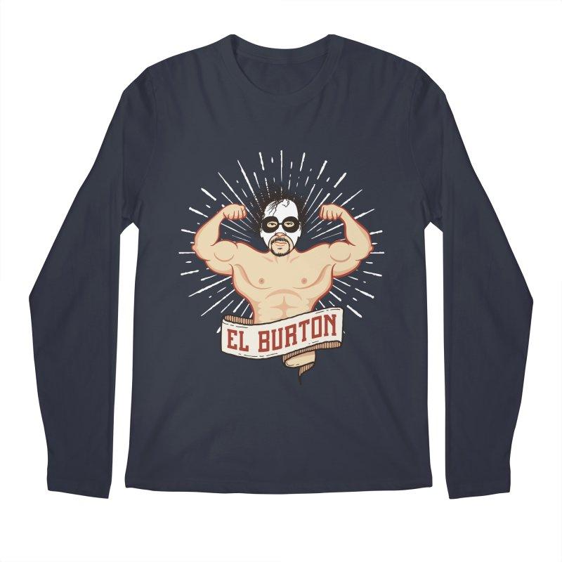 El Burton Men's Regular Longsleeve T-Shirt by ikado's Artist Shop