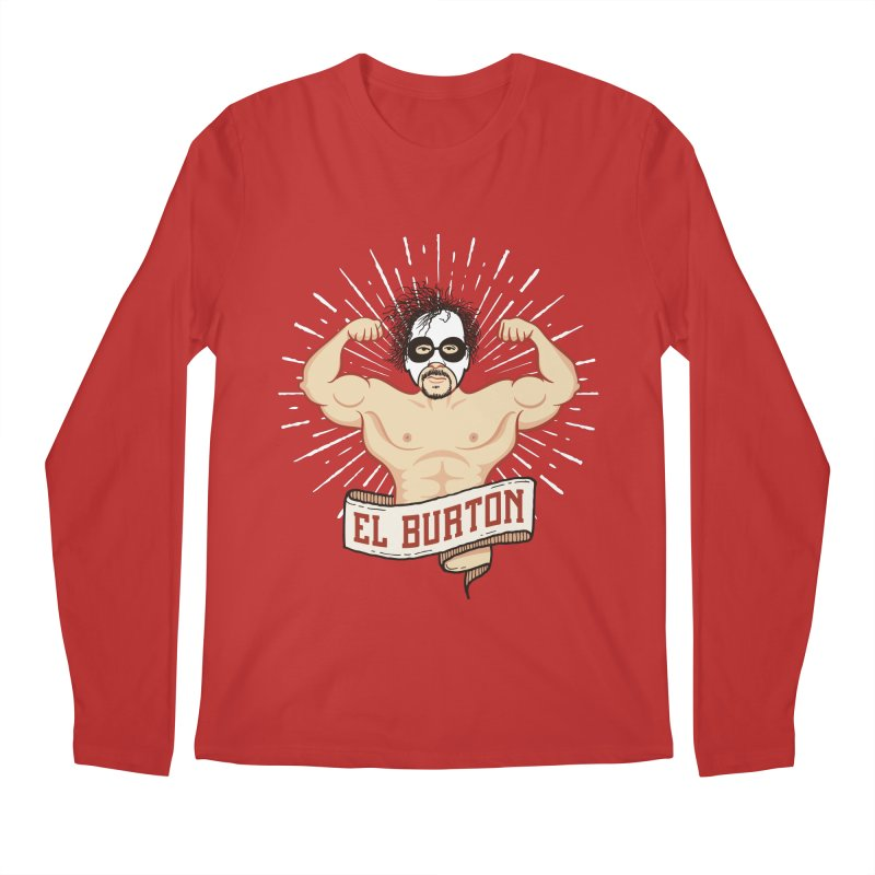 El Burton Men's Longsleeve T-Shirt by ikado's Artist Shop