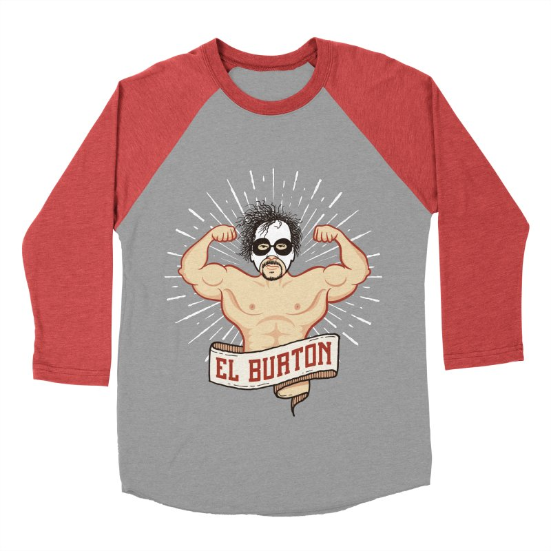 El Burton Women's Baseball Triblend T-Shirt by ikado's Artist Shop