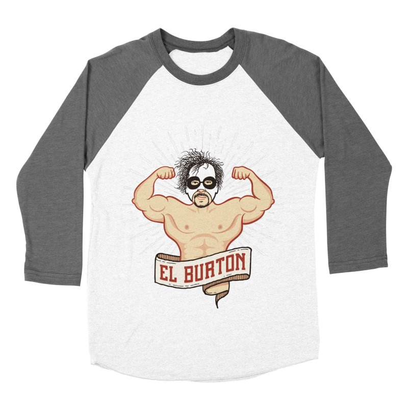 El Burton Men's Baseball Triblend Longsleeve T-Shirt by ikado's Artist Shop
