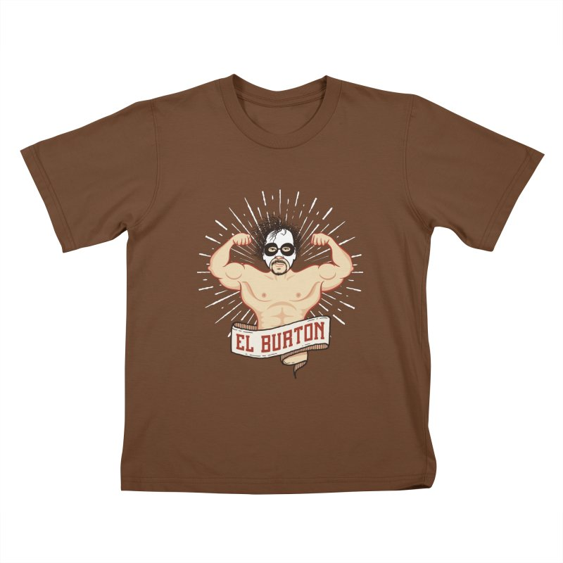El Burton Kids T-Shirt by ikado's Artist Shop