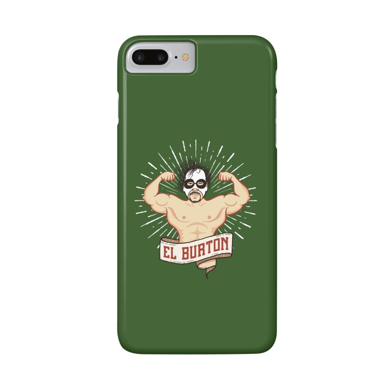 El Burton Accessories Phone Case by ikado's Artist Shop