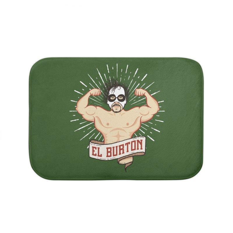 El Burton Home Bath Mat by ikado's Artist Shop