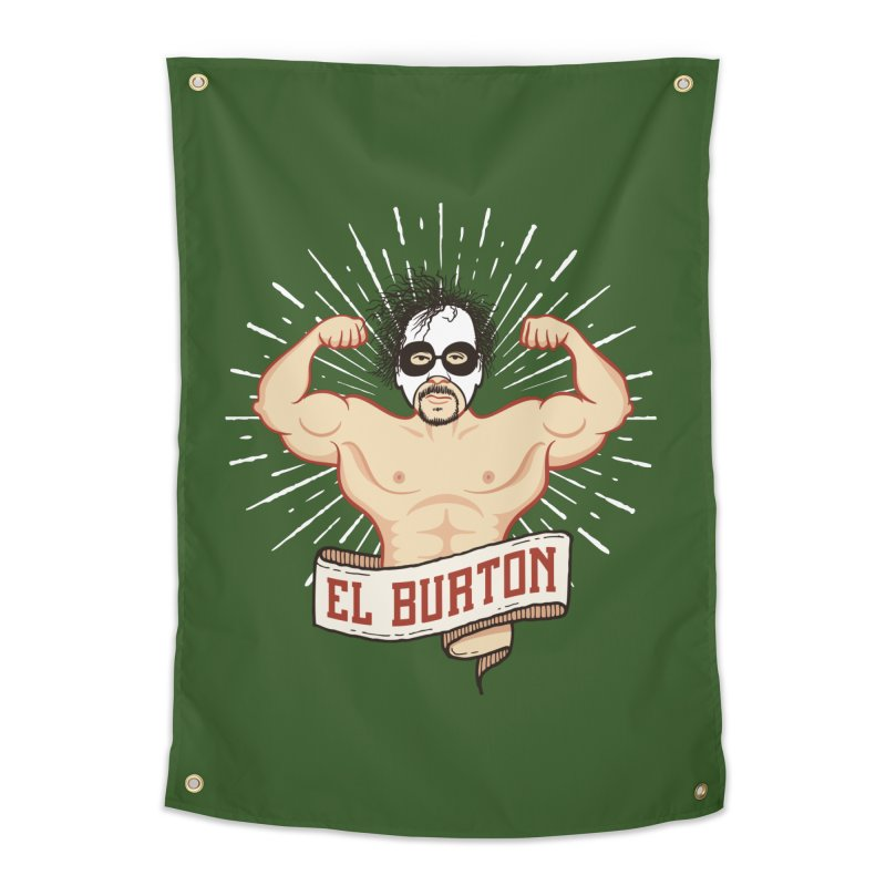 El Burton Home Tapestry by ikado's Artist Shop