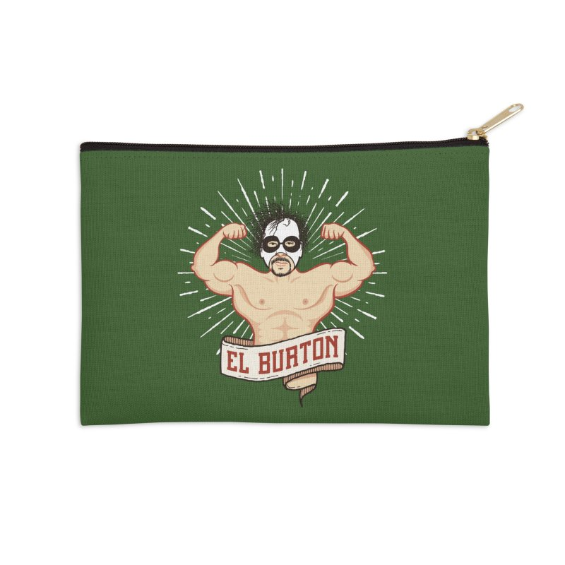 El Burton Accessories Zip Pouch by ikado's Artist Shop