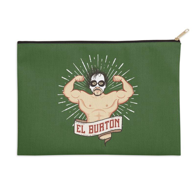 El Burton Accessories Zip Pouch by ikado's Artist Shop