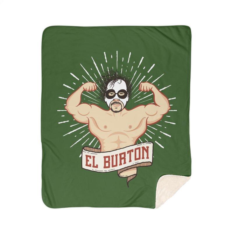 El Burton Home Sherpa Blanket Blanket by ikado's Artist Shop