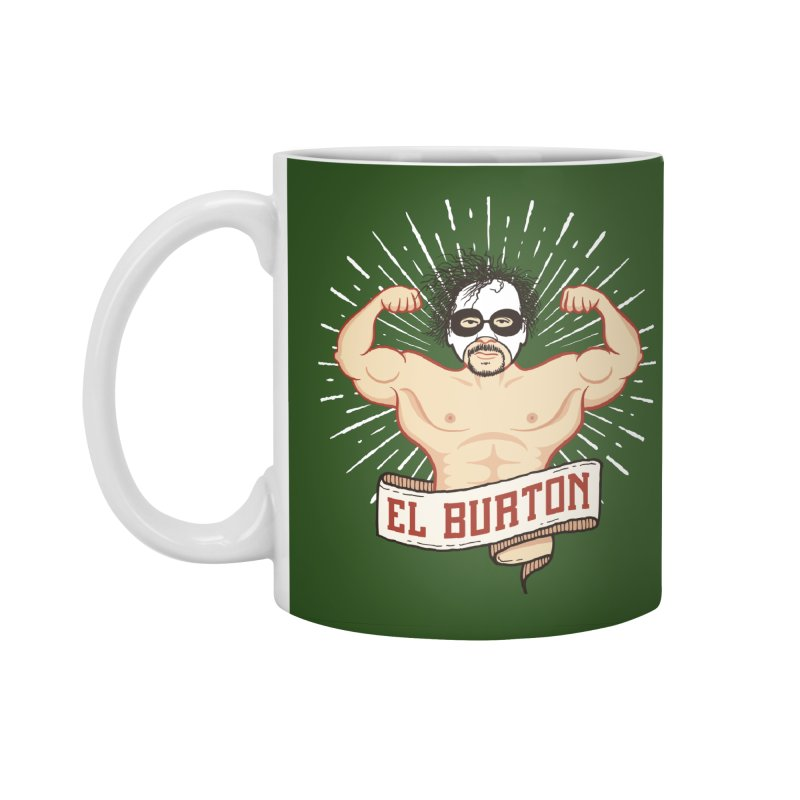 El Burton Accessories Standard Mug by ikado's Artist Shop