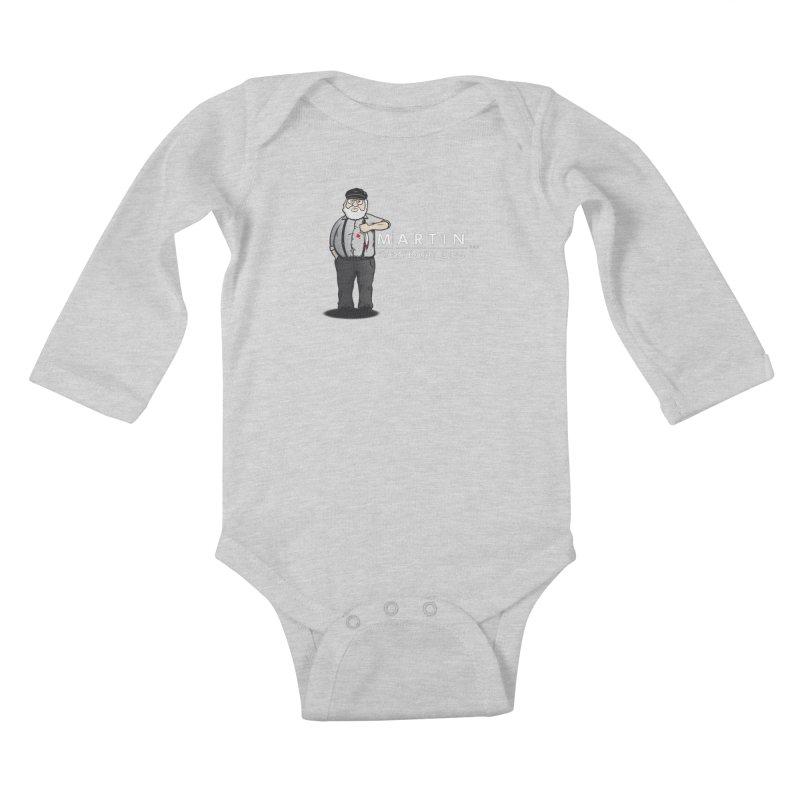Everybody Dies Kids Baby Longsleeve Bodysuit by ikado's Artist Shop