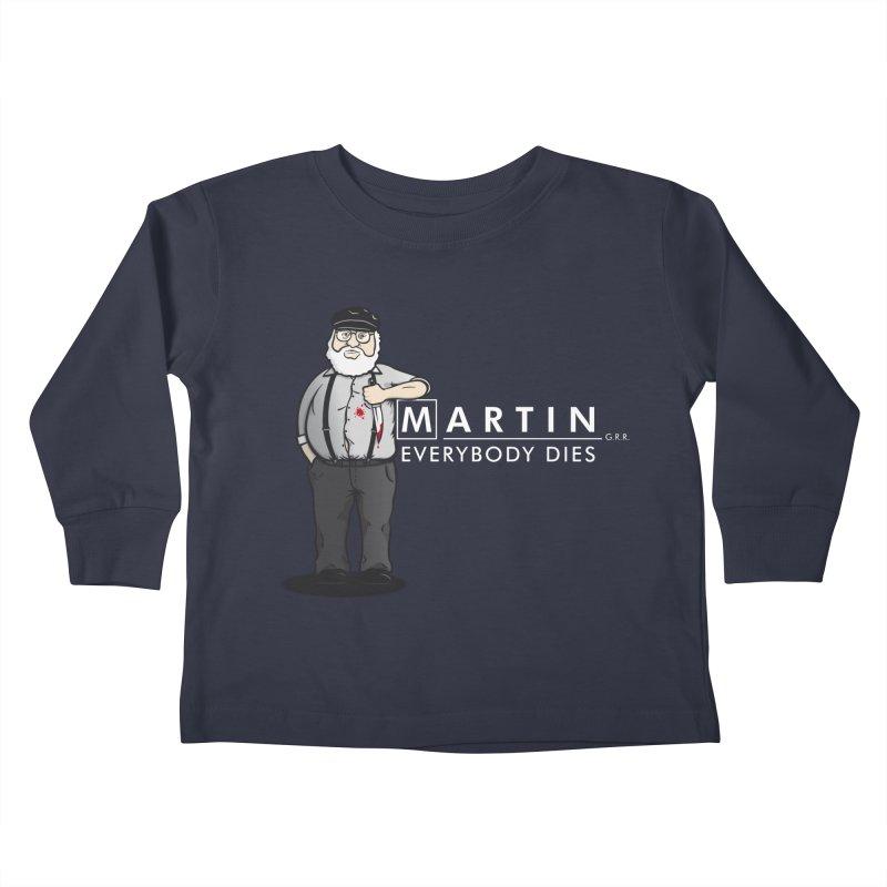 Everybody Dies Kids Toddler Longsleeve T-Shirt by ikado's Artist Shop