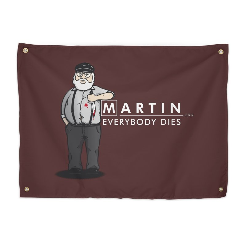 Everybody Dies Home Tapestry by ikado's Artist Shop