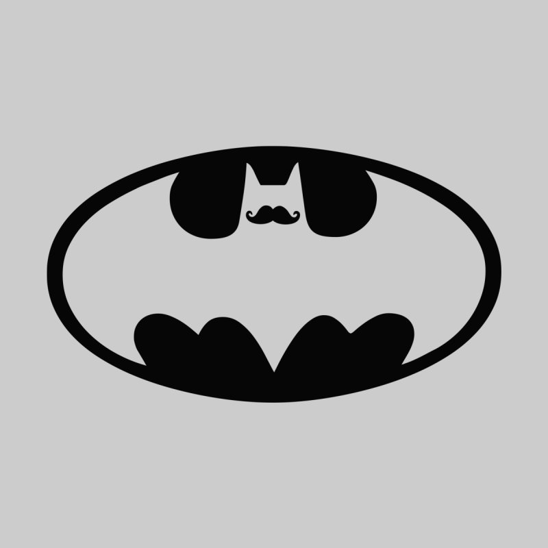 Bat-stache None  by ikado's Artist Shop