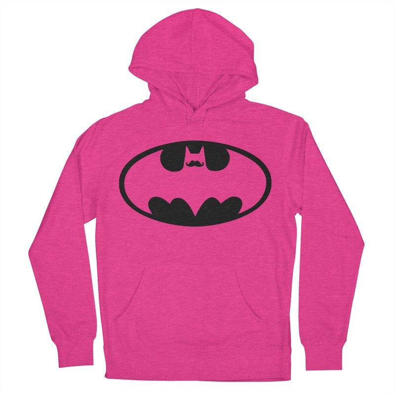 Bat-stache Men's Pullover Hoody by ikado's Artist Shop