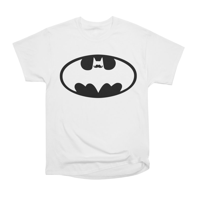 Bat-stache Women's Classic Unisex T-Shirt by ikado's Artist Shop