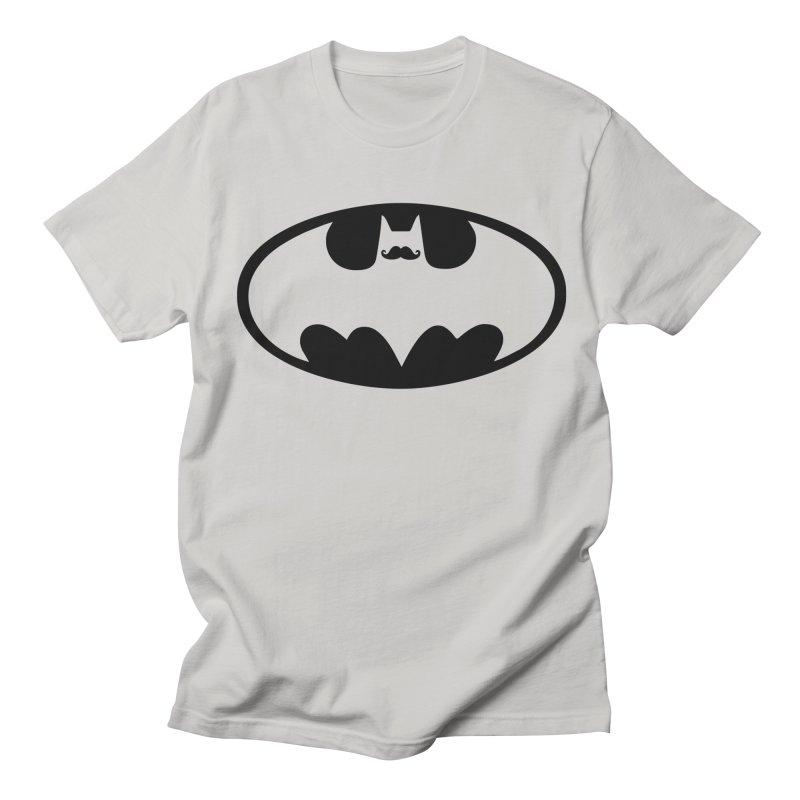 Bat-stache Women's Unisex T-Shirt by ikado's Artist Shop