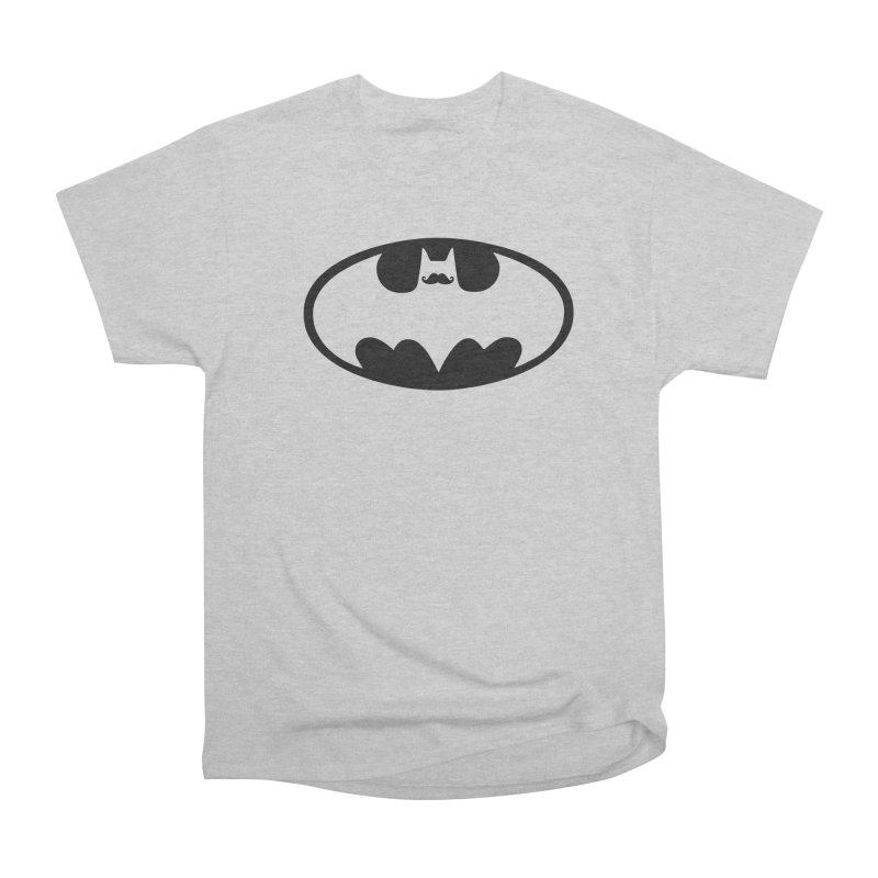 Bat-stache Women's Heavyweight Unisex T-Shirt by ikado's Artist Shop