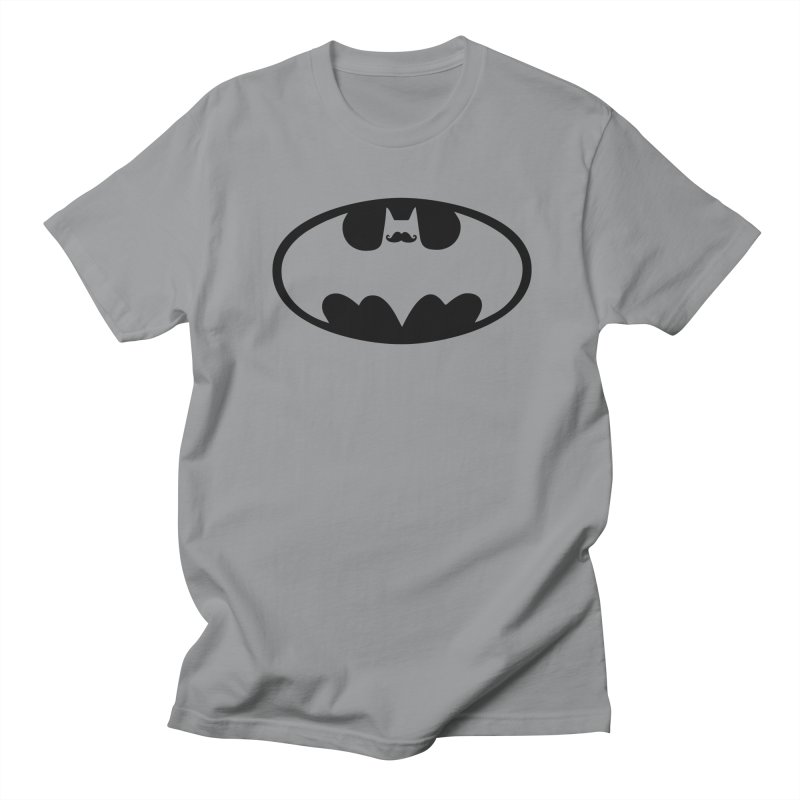 Bat-stache Women's Unisex T-Shirt by ikado's Artist Shop
