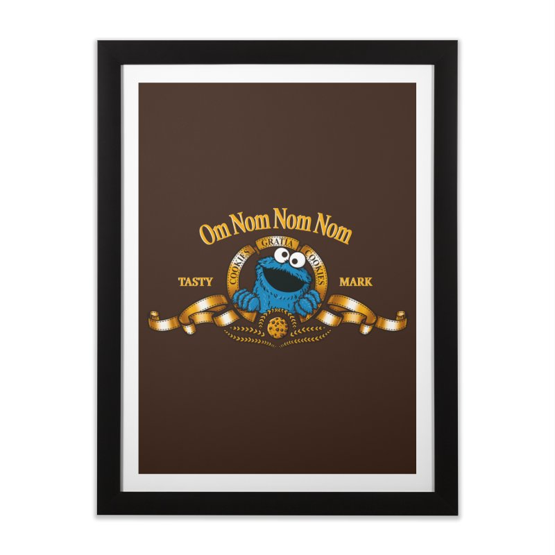 Cookies Gratia Cookies Home Framed Fine Art Print by ikado's Artist Shop