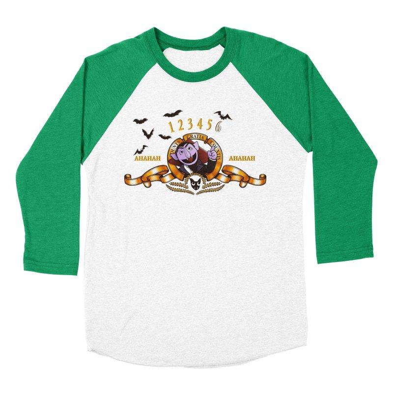 Counts Gratia Countis Men's Baseball Triblend T-Shirt by ikado's Artist Shop
