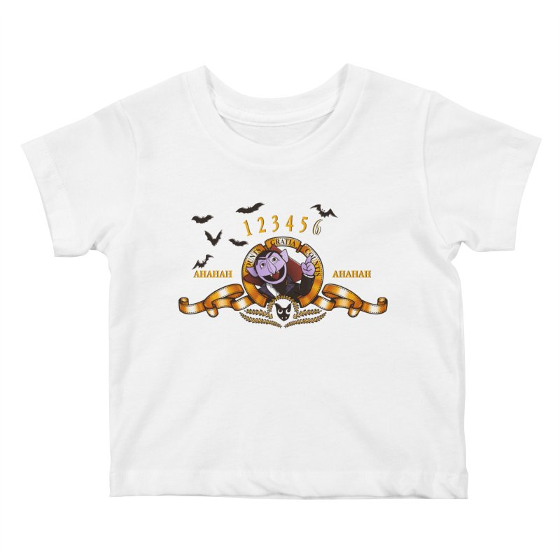 Counts Gratia Countis Kids Baby T-Shirt by ikado's Artist Shop