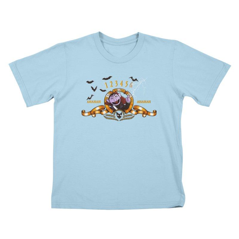 Counts Gratia Countis Kids T-shirt by ikado's Artist Shop
