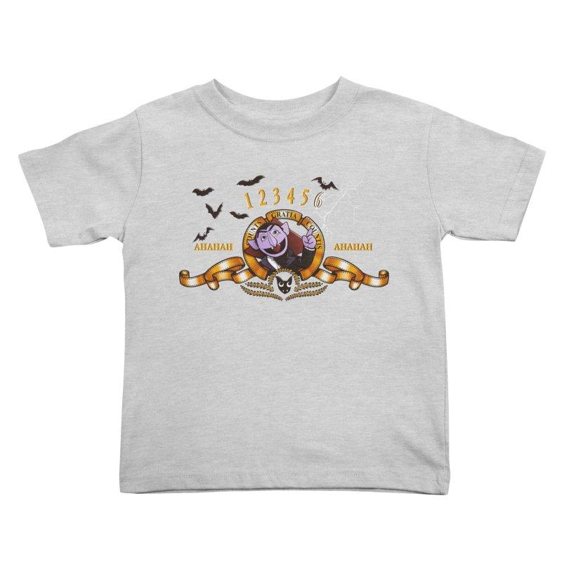Counts Gratia Countis Kids Toddler T-Shirt by ikado's Artist Shop
