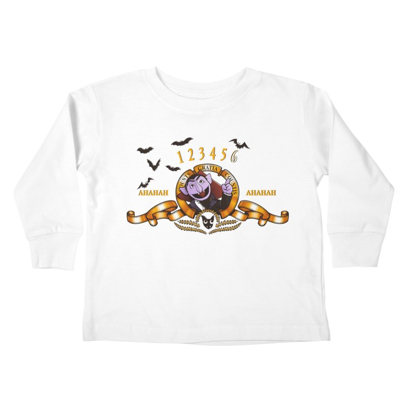 Counts Gratia Countis Kids Toddler Longsleeve T-Shirt by ikado's Artist Shop