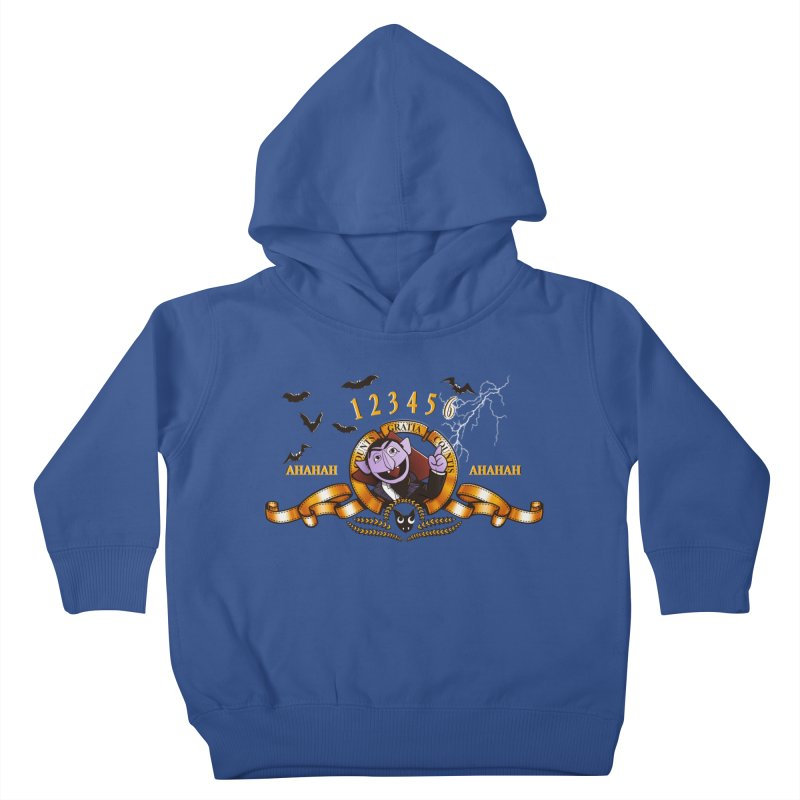 Counts Gratia Countis Kids Toddler Pullover Hoody by ikado's Artist Shop