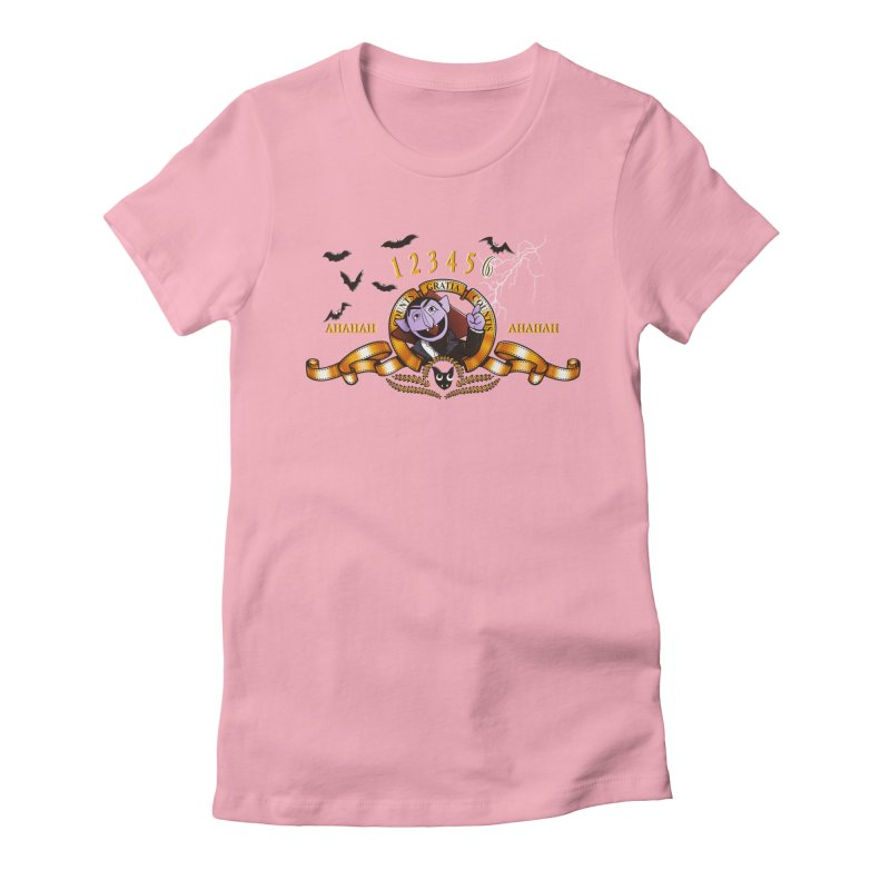 Counts Gratia Countis Women's Fitted T-Shirt by ikado's Artist Shop